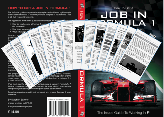 Inside The Formula 1 Career Guide